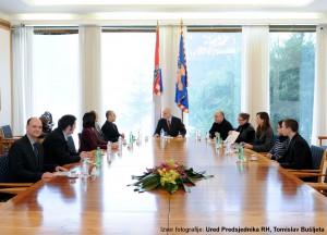 HrOpen, HULK s Predsjednikom RH, prof. dr. Ivom Josipovićem - sastanak